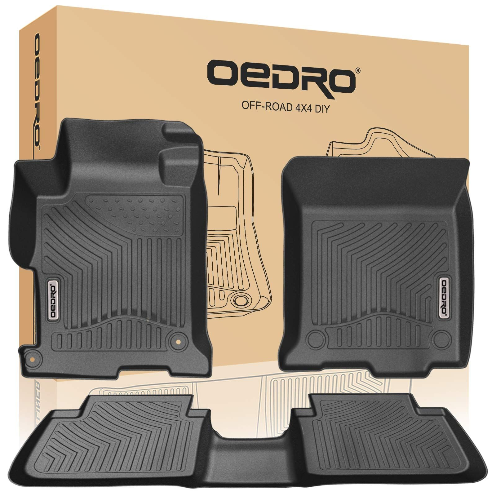 Oedro Floor Mats Compatible For 2013 2017 Honda Accord Sedans