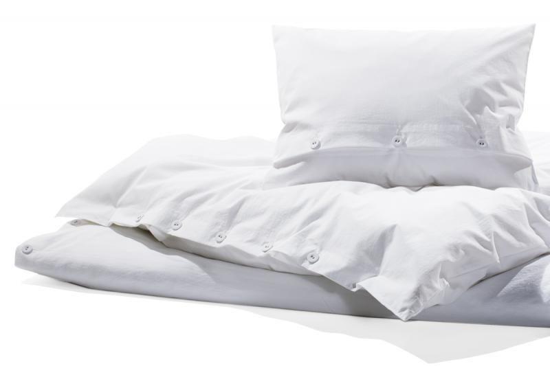 Bettwasche Gewaschene Baumwolle Bianco Weiss Bettwasche Weisse