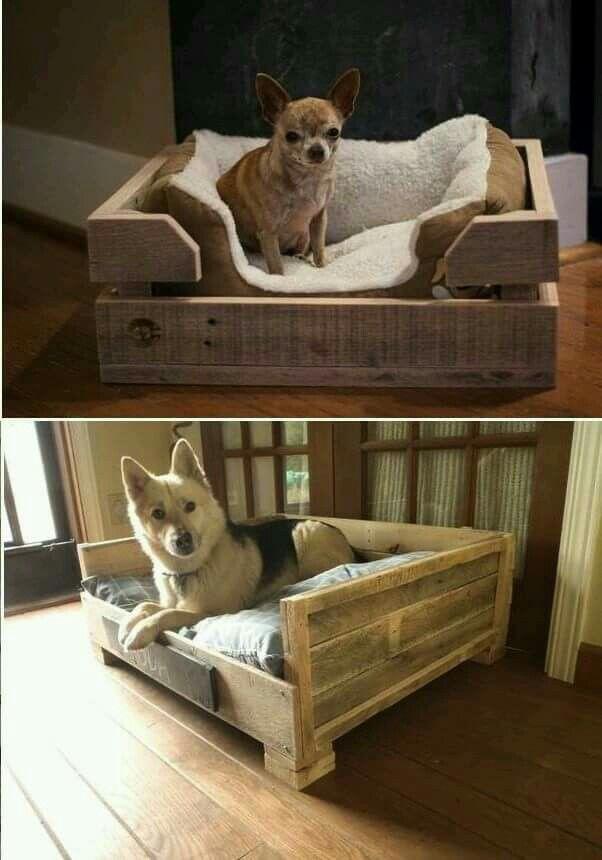 The Bottom One X4 Pallet Dog Beds Diy Dog Bed Diy Dog