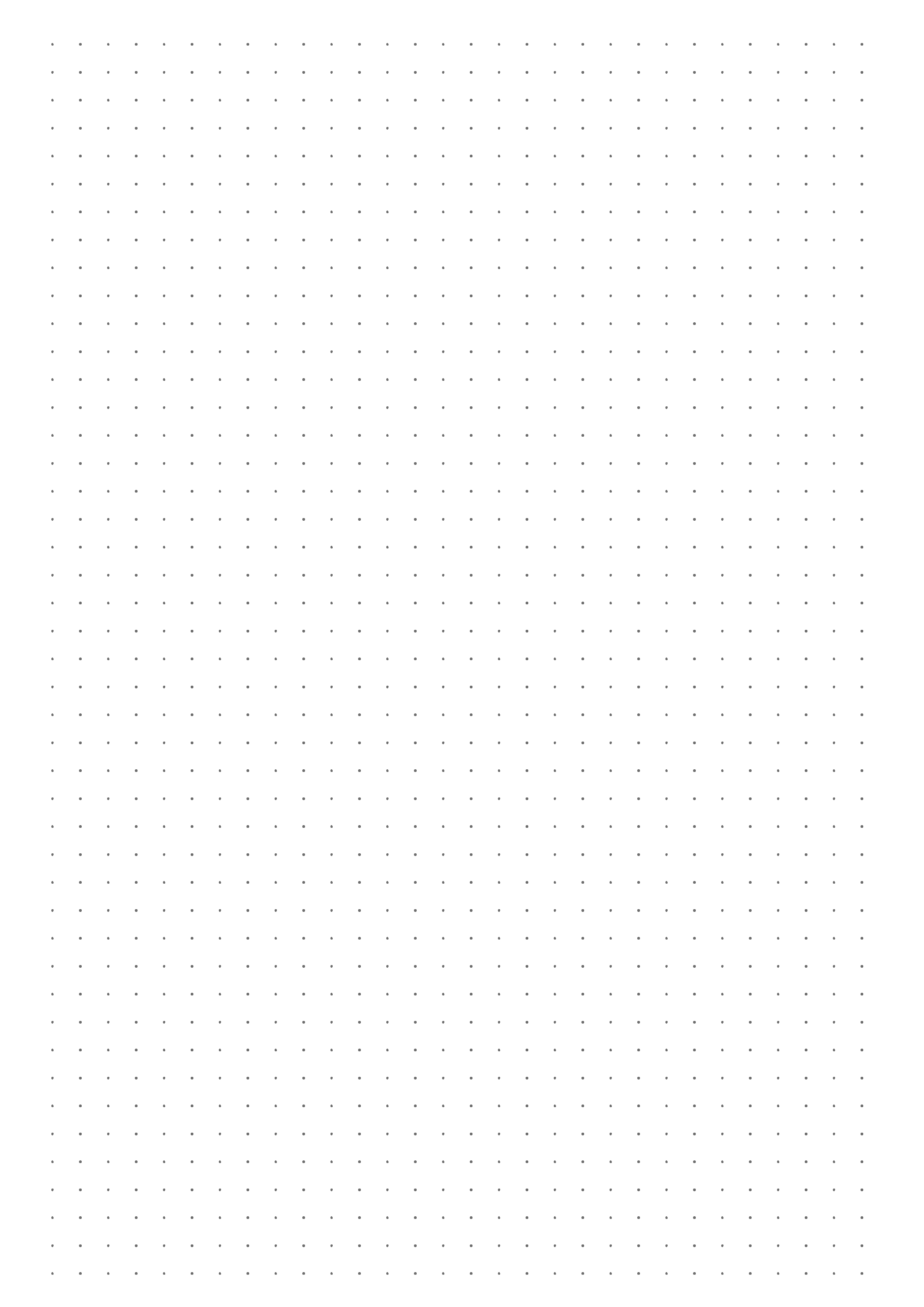 Printable Dot Grid Paper With 4 Dots Per Inch Download