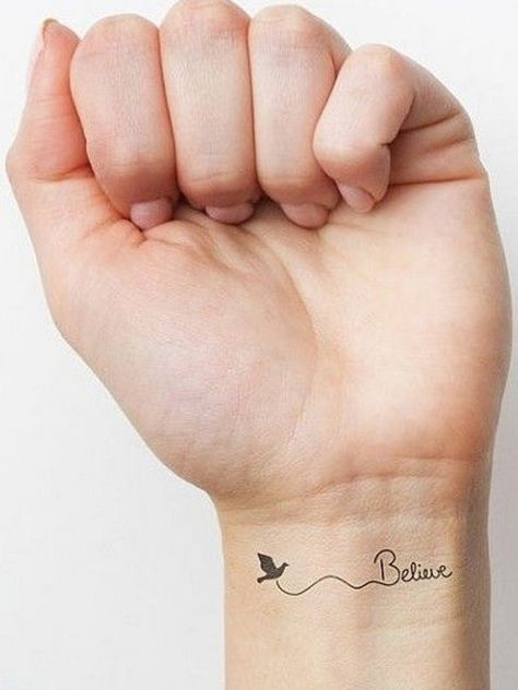 45 Unique Small Wrist Tattoos for Women and Men - Simplest To Be Drawn Check more at http://tattoo-journal.com/45-amazing-wrist-tattoos/