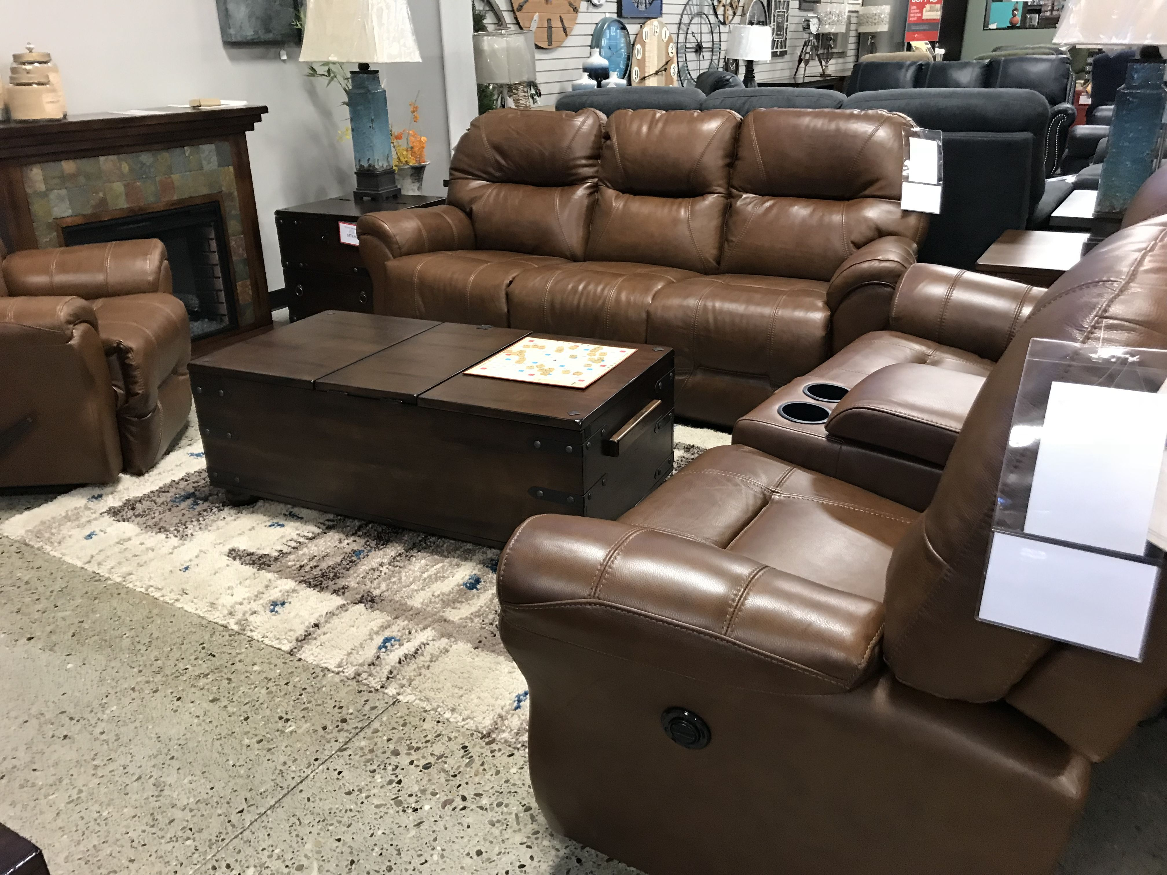 Leather Couches Ashley S Navigator Faux Leather Reclining