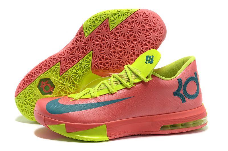Nike Zoom KD 6 (VI) Rose-Red/Green