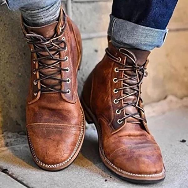 Vintage Rivet Plus Sizes Boots For Women And Men – tatunis