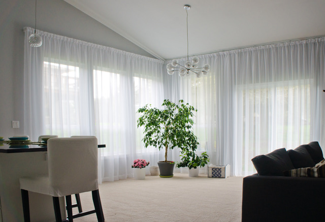 wall mounted curtain tracks curtains