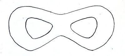 Incredibles Costume Tutorial   Pinterest   Mask template, Superhero ...