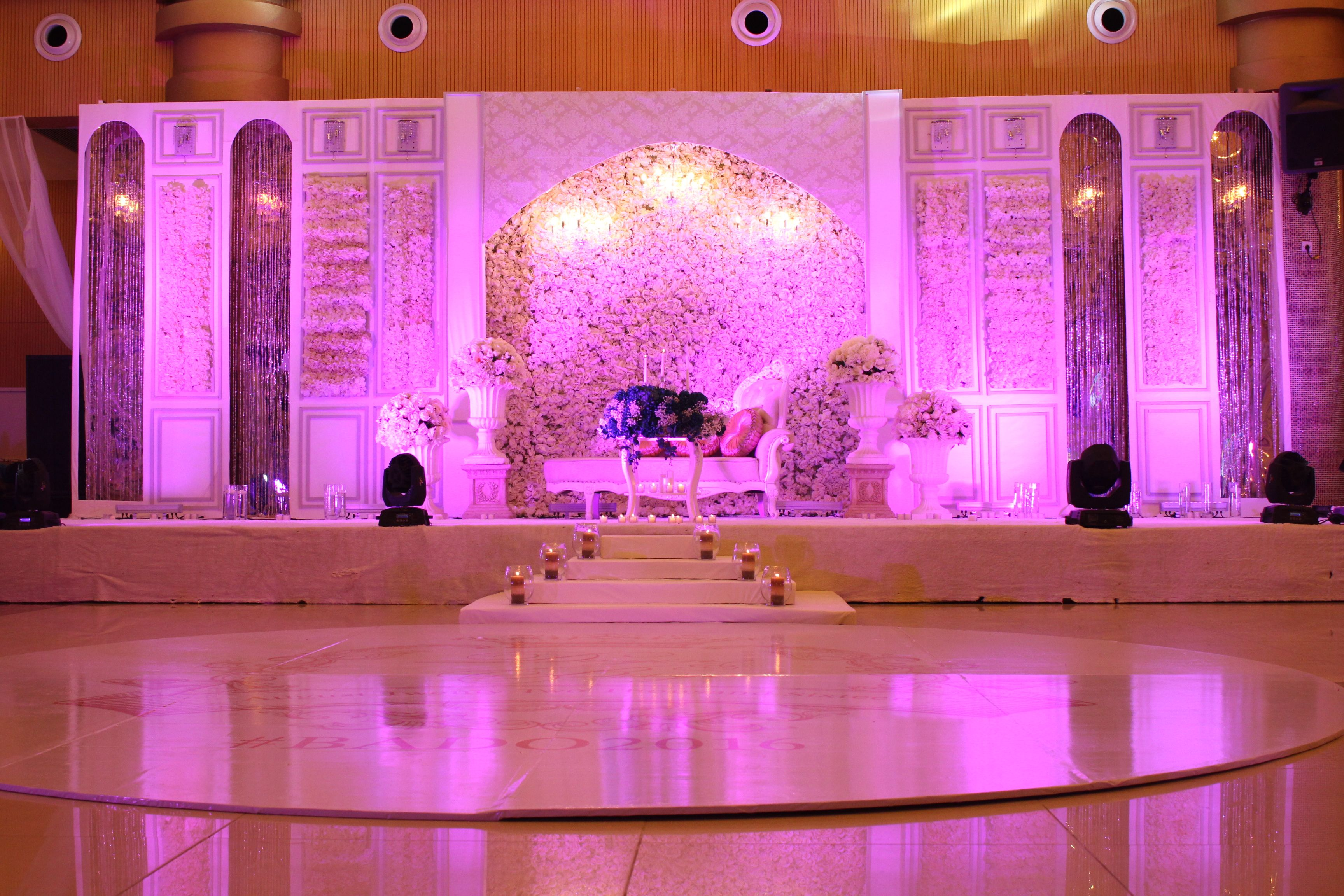 Latest wedding stage decoration  Pin by Aquarian Touch Events wedding fairies on WEDDING STAGE