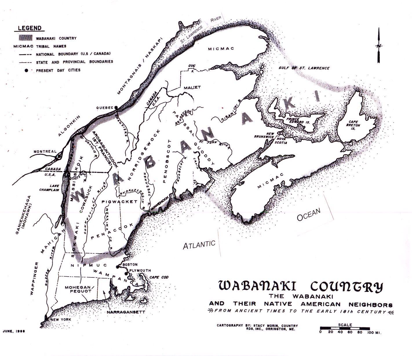 Abenaki map native american history native north