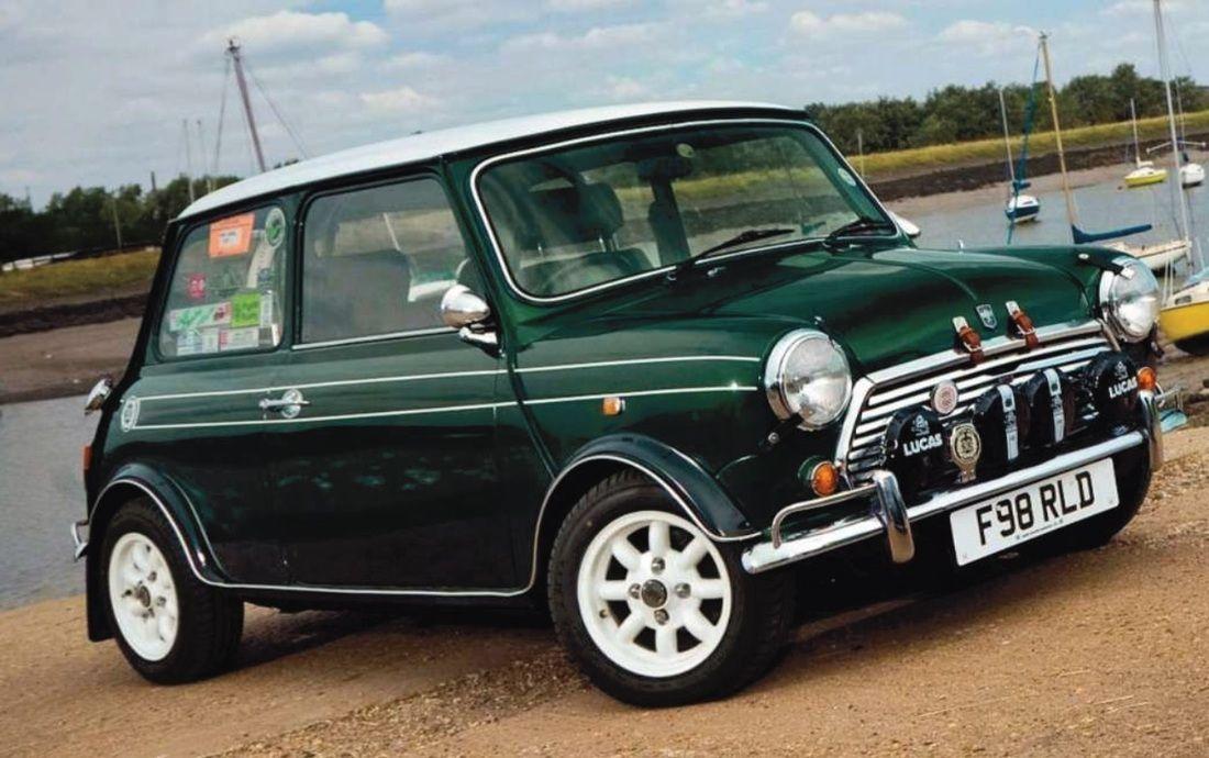 British Racing Green Mini Cooper Class Brg Mini Cooper