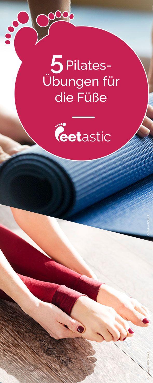 Pilates für die Füße: Einfache Übungen zum Nachmachen #yogaypilates