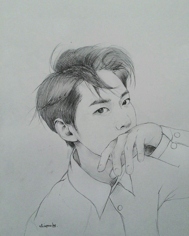 My Boyfriend Is Idol Pictures To Draw Kpop Drawings Art