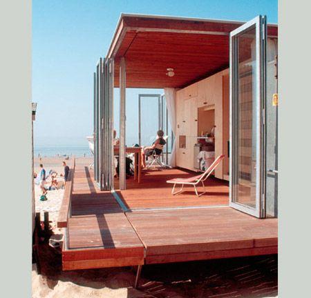 Strandhuisje, Paul van den Heuvel