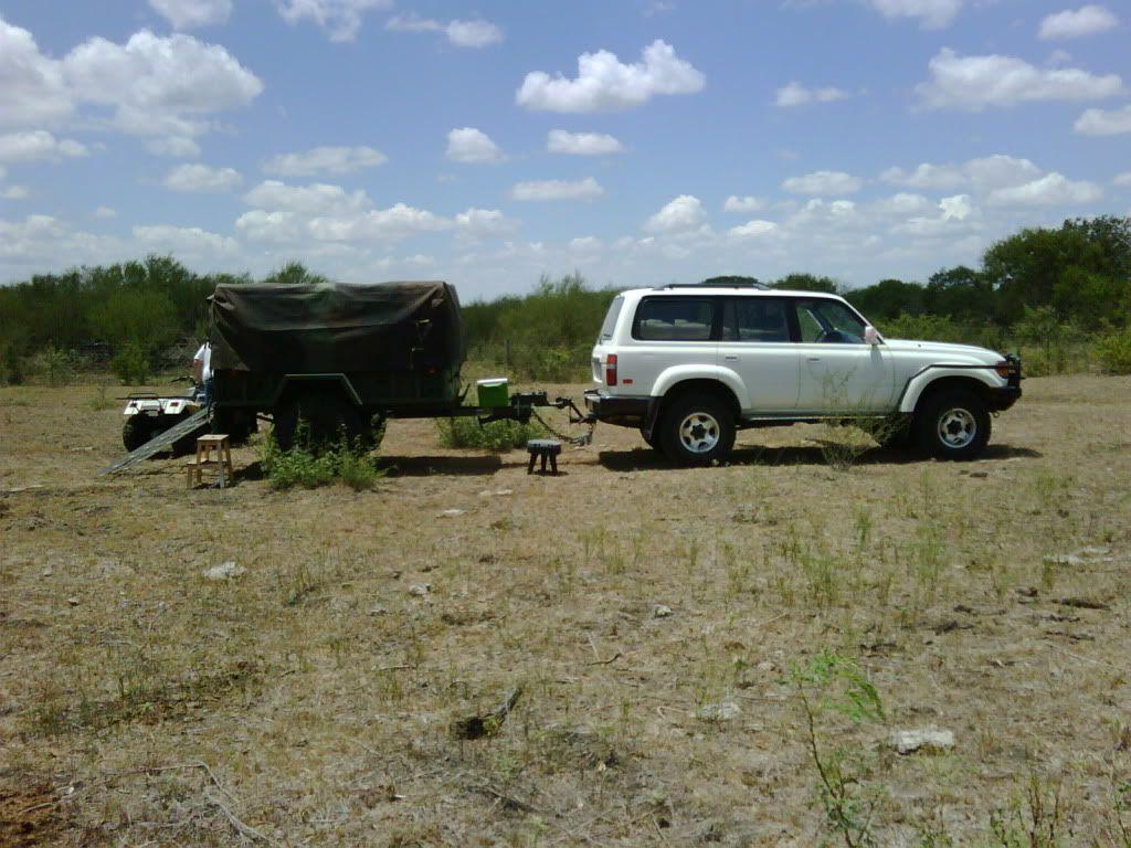 miltary trailer/rtt/quad been done? Toyota FJ Cruiser