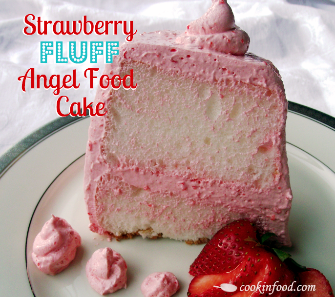 Kroger Strawberry Whipped Cream Cake Nutrition