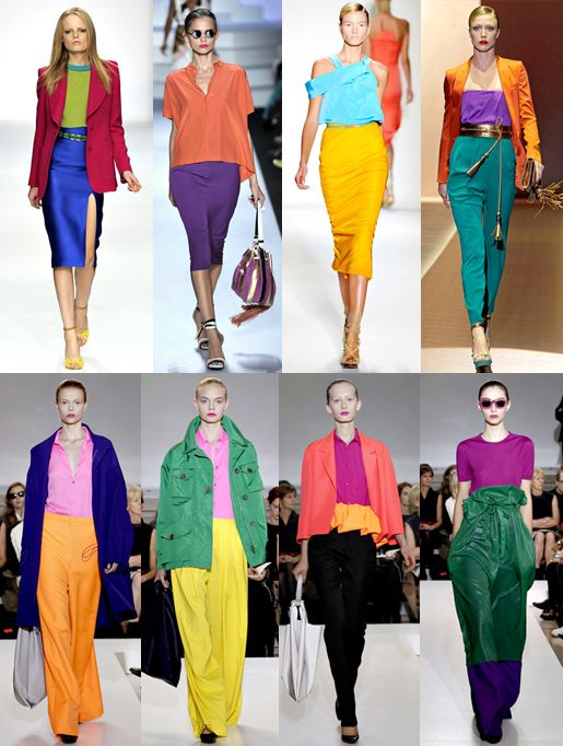 i have always loved colour blocking i don t believe it is a trend