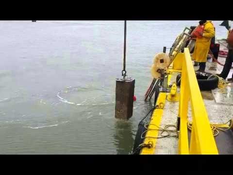 Underwater Core Drilling - Aggregate Technologies