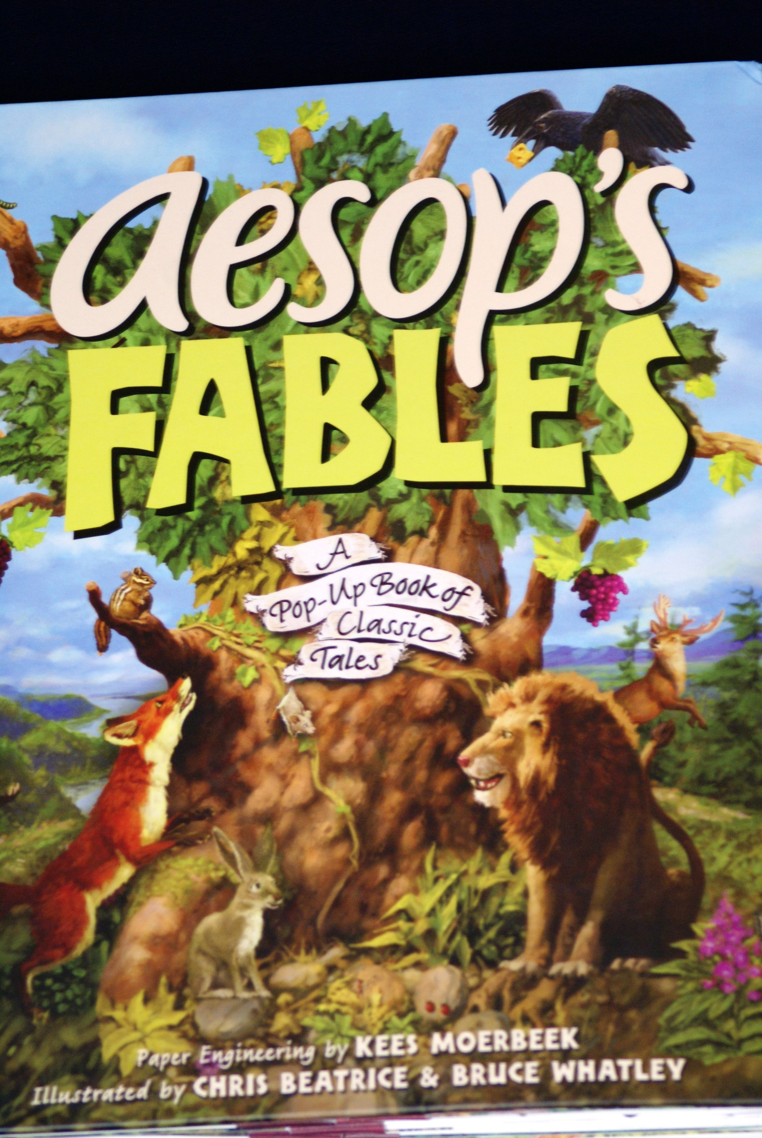 Take a look at this Aesop's Fables Hardcover by Simon & Schuster on today!
