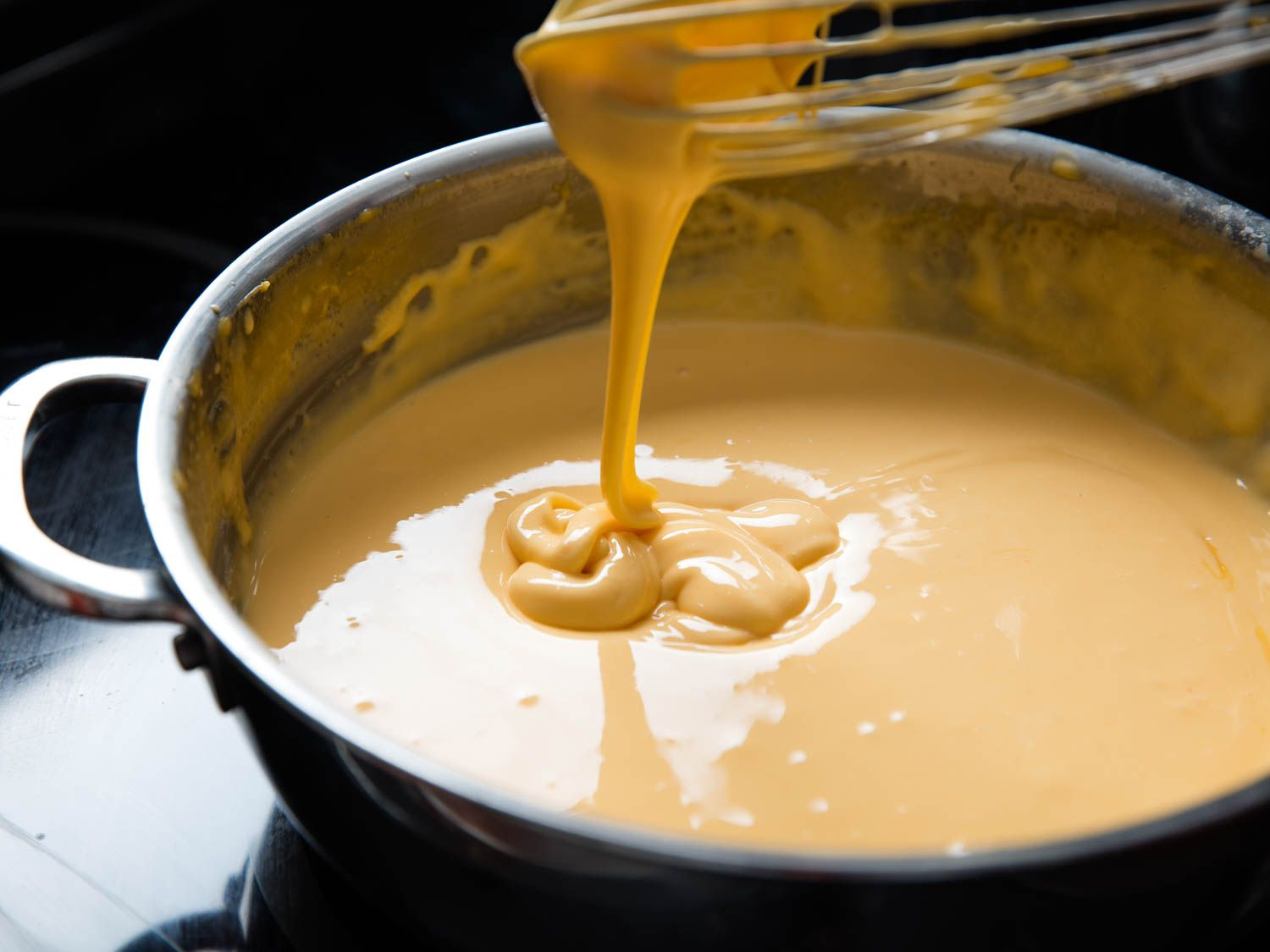 For Smooth Stable Cheese Sauces Cornstarch And Evaporated Milk Are Your Friends Melted Cheese Sauce Cheese Sauce Melted Cheese Dip