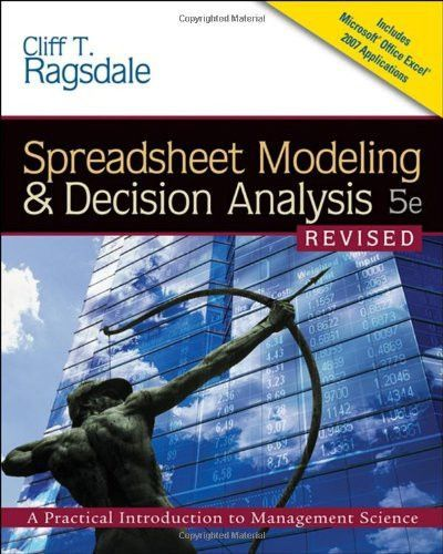 Spreadsheet Modeling  Decision Analysis A Practical Introduction - spreadsheet for project management