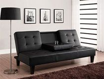 Astonishing Roomy Deep Seat Futon With Cushions Home Futon Bed Bralicious Painted Fabric Chair Ideas Braliciousco