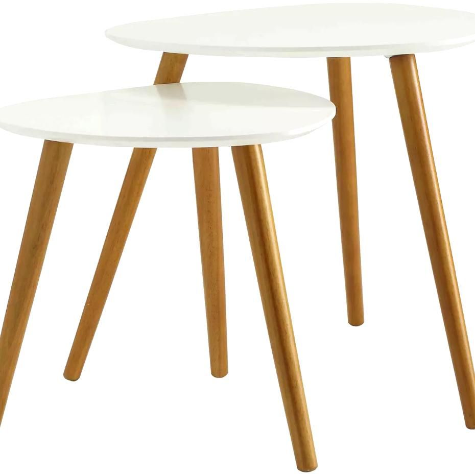 Oslo Nesting End Tables Johar Furniture Target Coffee Table White Coffee Table Dining Room Sets [ 930 x 930 Pixel ]