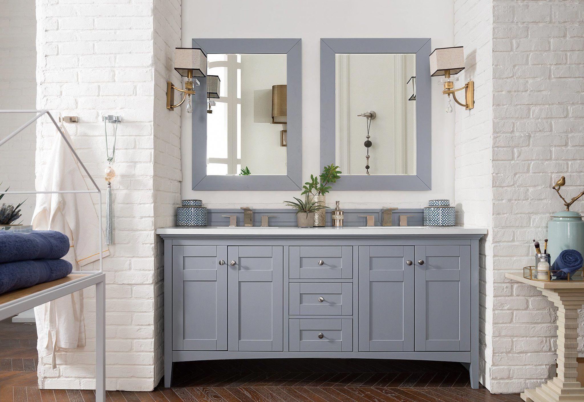Palisades 72 Double Bathroom Vanity Double Bathroom Vanity James Martin Vanity Graybathroom Grey Bathroom Vanity Bathroom Vanity Vanity [ 1410 x 2048 Pixel ]