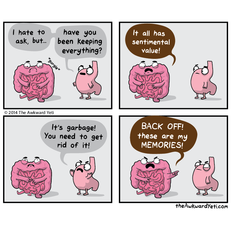 On This Episode Of Hoarders Awkward Yeti Funny Memes Funny Meme Pictures