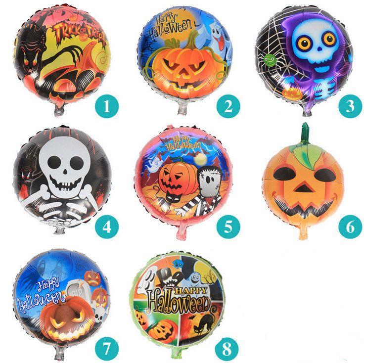 Scary Horror Inflatable Ballon Halloween Decor Creepy Pumpkin Head - inflatable halloween decoration
