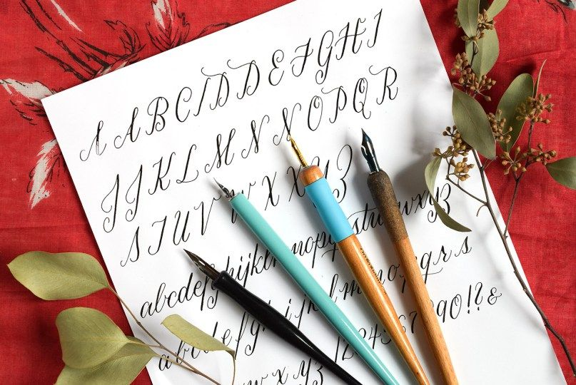 A guide to straight calligraphy pens the postmans knock crafty