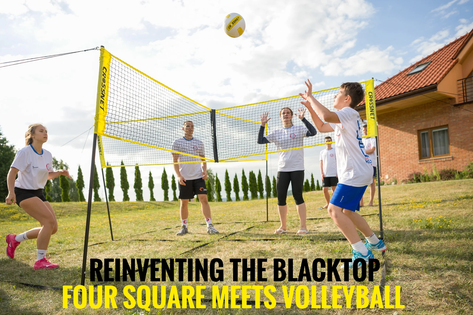 Decoology Quartet Volleyball Net Ship Within 24 Hours In 2020 Volleyball Volleyball Net Four Square