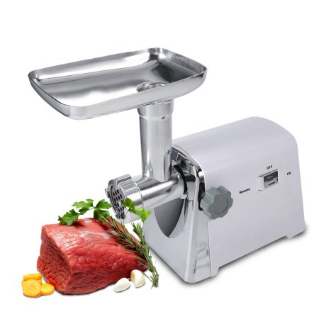 Electric Meat Grinder,1600W Stainless Steel Industrial Meat