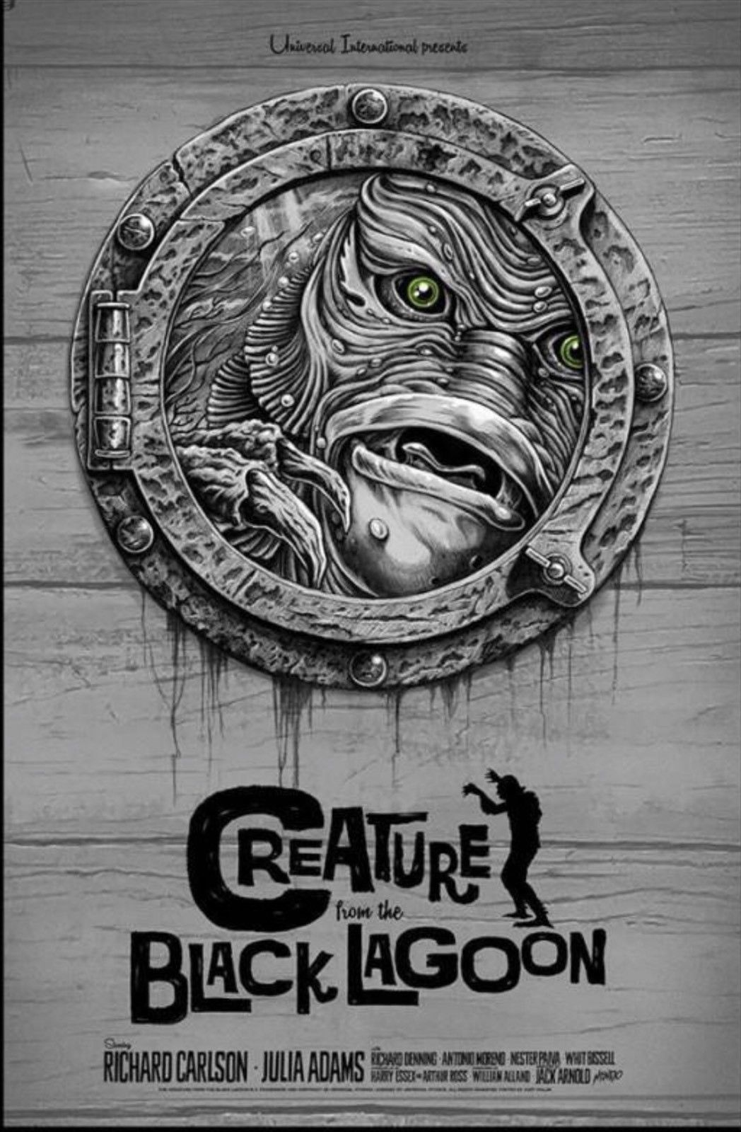 Pin by Kenny Berg on Creature From the Black Lagoon art