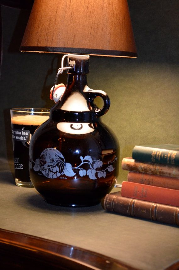 Stone Brewery Growler Lamp Stone Brewery Brewery Design Craft