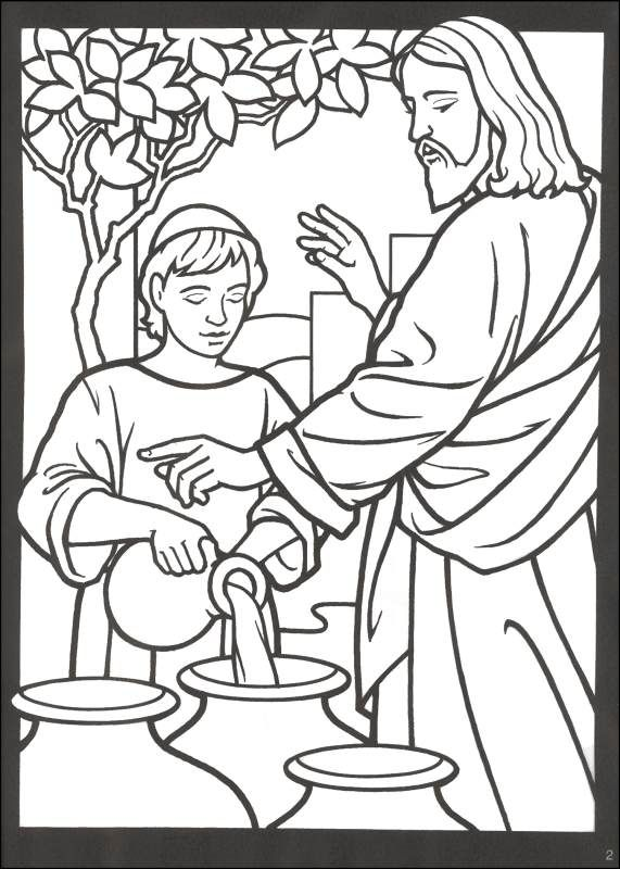 miracles of jesus Coloring Book - Pesquisa Google | Sunday ...