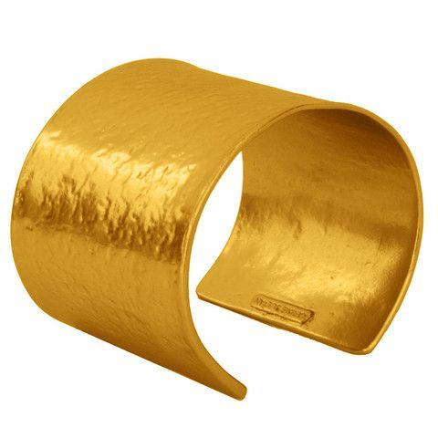 ZOE (Gold) CUFF Worn by Drew Barrymore   Karine Sultan
