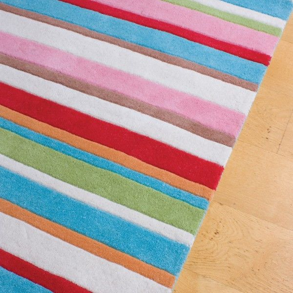 Kathy Striped Rug Childrens