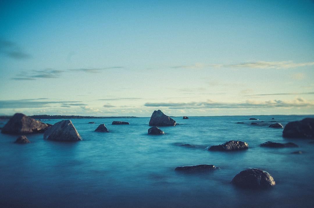 Good night. #longexposure #sea #sky #beach #landscape #nature #hakunti #lohtaja #kokkola #suomi #finland