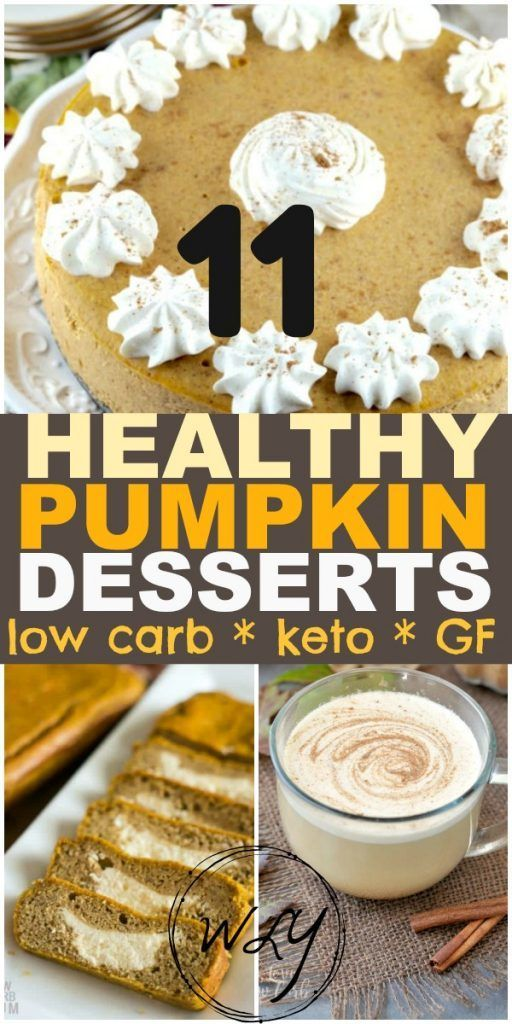 The 12 BEST Low Carb Keto Pumpkin Recipes You'll Fall For #pumpkindesserts
