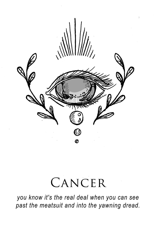 Amrit Brar S Portfolio Book V Love Sells Cancer Zodiac Tattoo Horoscope Tattoos Zodiac Signs Cancer