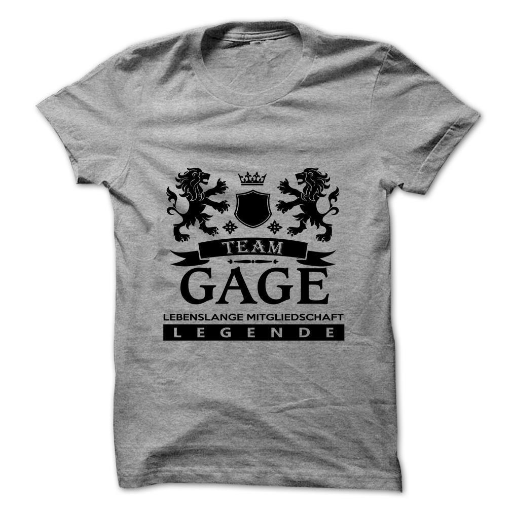 GAGE T-Shirts, Hoodies. CHECK PRICE ==► https://www.sunfrog.com/Camping/GAGE-111805896-Guys.html?id=41382