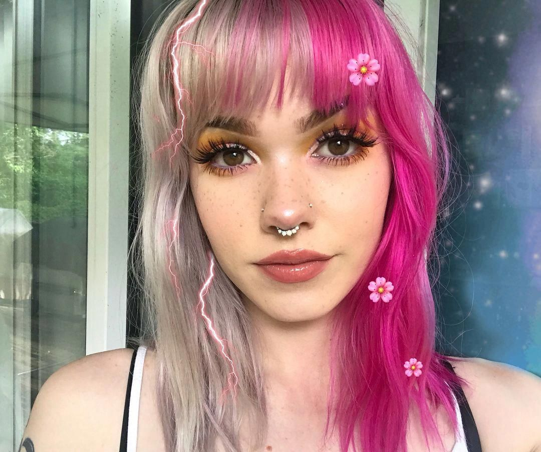 23 Chic Choppy Bangs For Women That Are Popular For 2019 Split