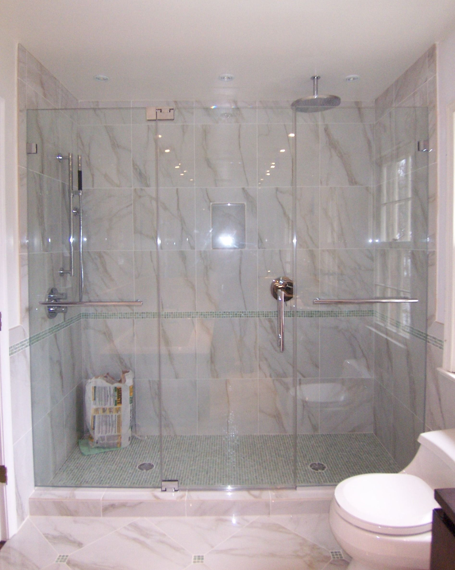 Frameless Panel Door Panel Half Inch Glass (3) | Shower door ...