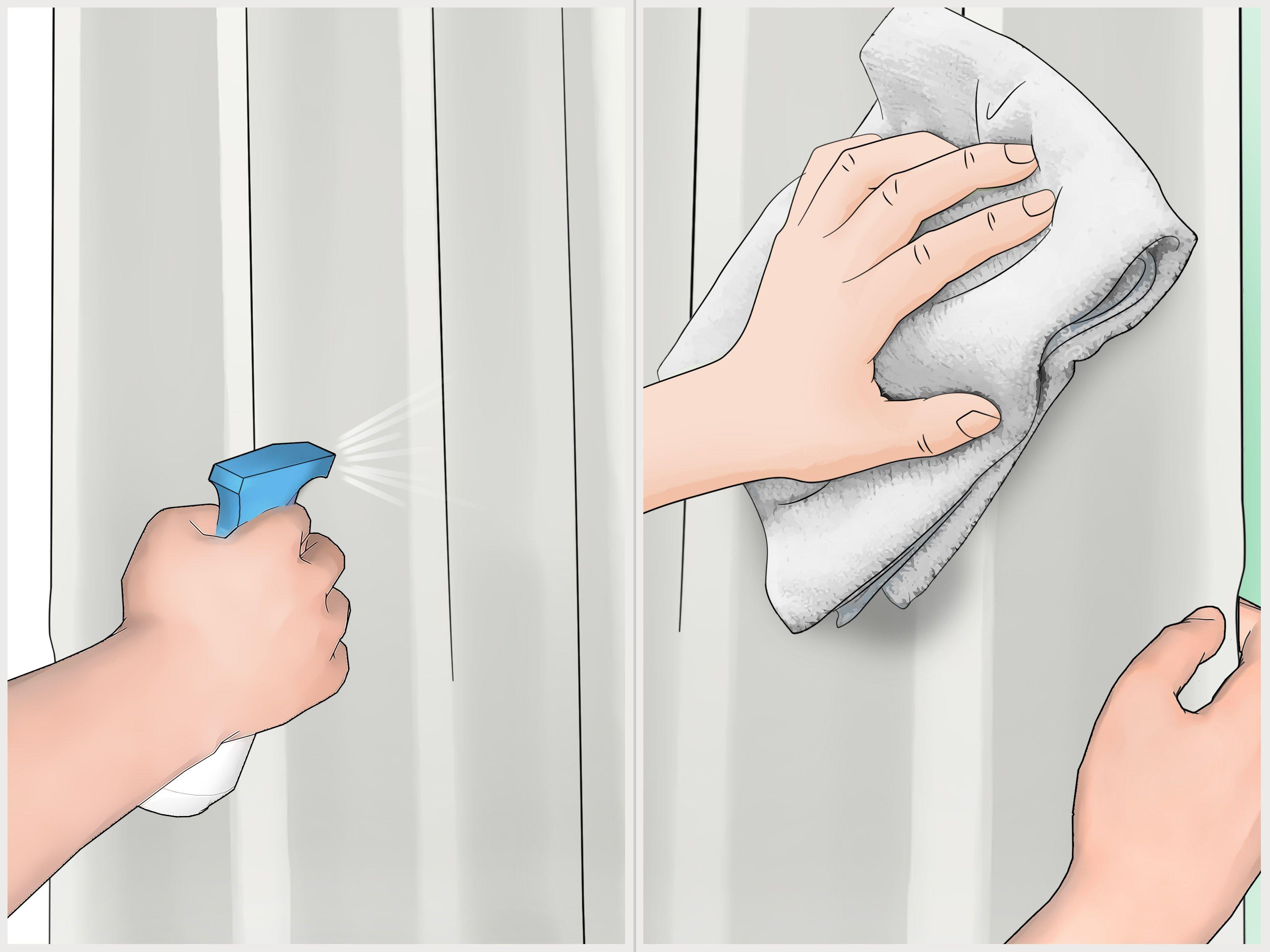 Prevent mildew on a shower curtain domestic secrets pinterest