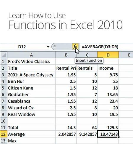 Excel 2010 The Essentials Excel Tutorials Excel Excel Hacks