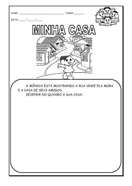 Alfabetizando Com Monica E Turma Identidade Projeto Identidade