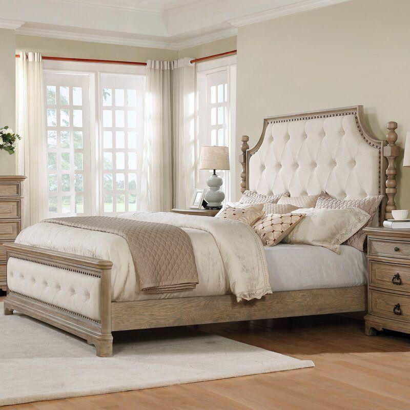 One Allium Way Pennington Upholstered Standard Bed Reviews Wayfair Master Bedroom Furniture Master Bedroom Set Upholstered Beds Master Bedroom Ideas