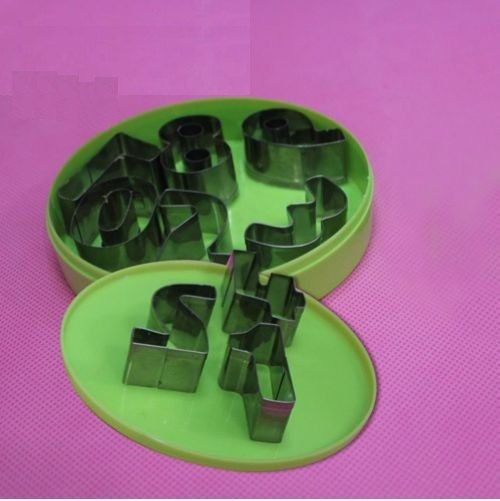 SUMMER SALE 5% off ***   Steel Biscuit Cookie Cutter Set -- #Numbers (C-1034)   ***       Origin	China   Model Number	C-1034   Brand Name	Beijing Xinke Yongzheng   Standard	FDA, SGS, LF... #cookiecutter #silicone #etsy #cakedesign #new #numbers
