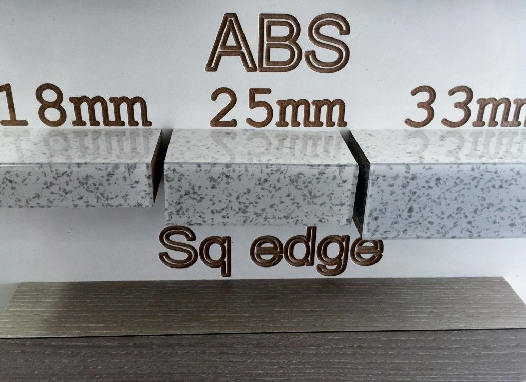 The Difference Abs Edging Can Make To Square Edge Laminate Bench Top