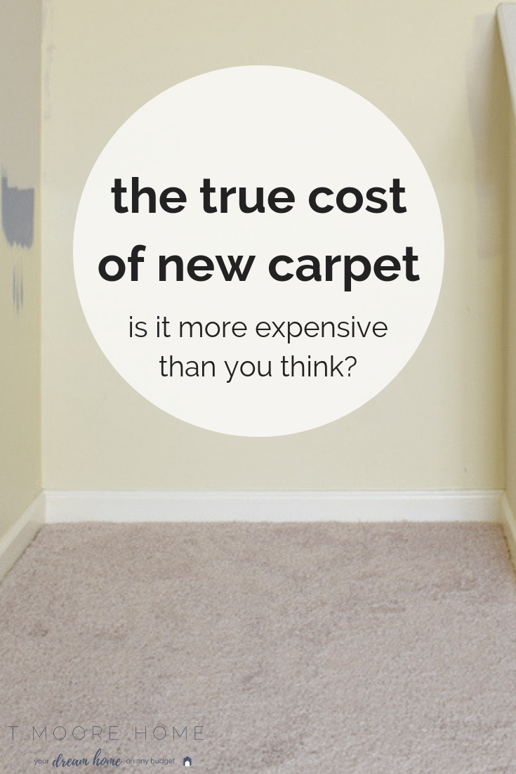 Installing New Carpet Costs And How I Got The Best Quote Home Improvement New Carpet Carpet