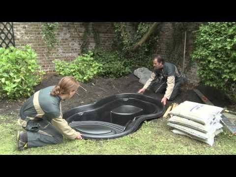 Installation d\'un bassin préformé Ubbink - YouTube | Mes jardins ...